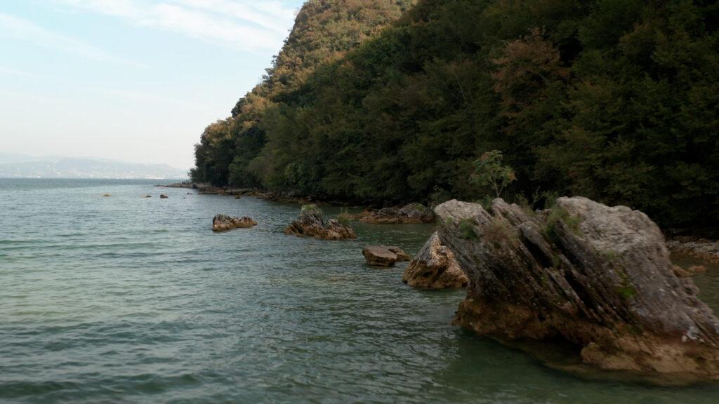 Drone lago di Garda