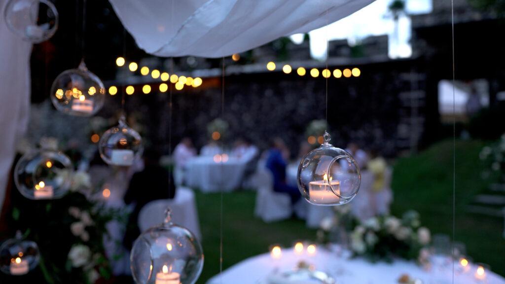 Esterna video matrimonio notturno