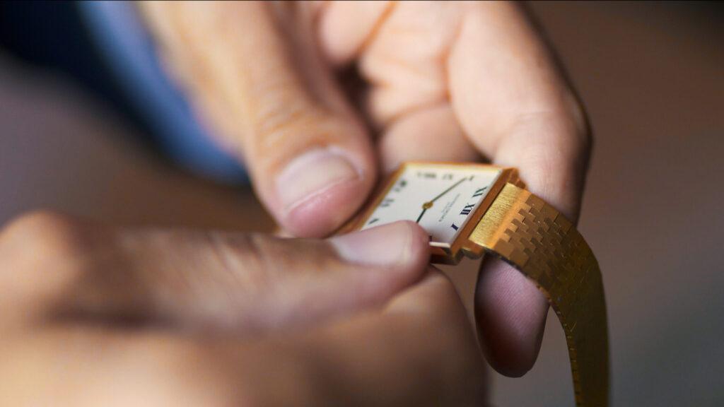 preparazione sposo orologio